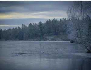 Bilde av isen